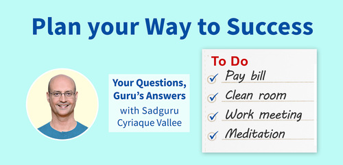 Plan Your Way to Success : Your Questions, Guru's Answers