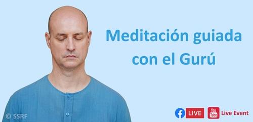 Meditación guiada con el Gurú
