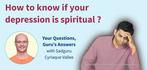 How to know if your depression is spiritual ?